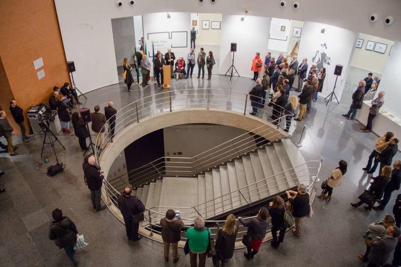 Vara inaugura la exposición ''Felipe Trigo fotógrafo y otros documentos de su archivo''