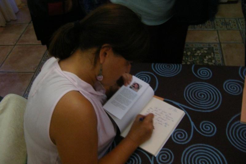 Conferencia de Pilar Aguilar sobre  su personaje literario 'Valentina'