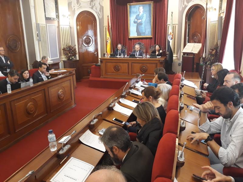Badajoz aprueba sus Presupuestos de 2018