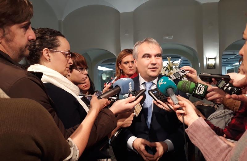 El alcalde y la delegada anuncian más presencia policial en Badajoz para actuar especialmente en el casco antiguo
