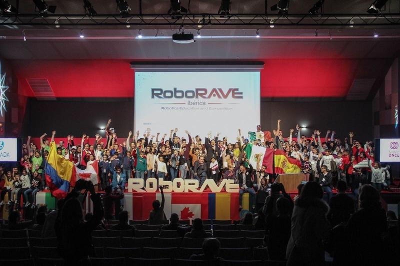 Finaliza la Roborave ibérica más internacional con récord de participación y asistencia