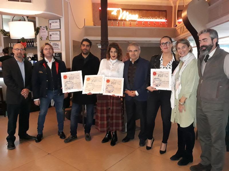La Casona Baja y El Paso del Agua ganan el primer premio de la Feria de la Tapa del Casco Antiguo