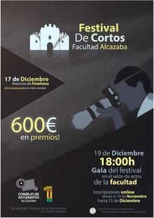 Estudiantes de la Facultad de la Alcazaba organizan un Festival de Cortos