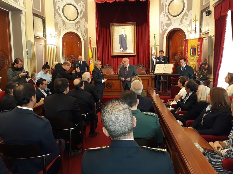 Badajoz conmemora el 40º Aniversario de la Constitución Española