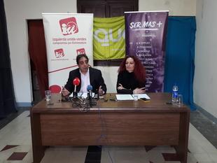 Podemos, IU y Equo, quieren confluir en una candidatura única a las elecciones municipales de Badajoz