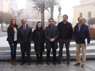 El PSOE  apuesta por una mayor confortabilidad de los espacios públicos de Badajoz