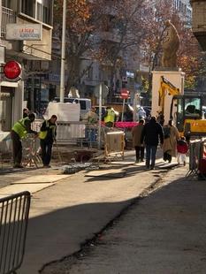 Ciudadanos Badajoz demanda que se adopten medidas de seguridad en la obra de la calle Santo Domingo