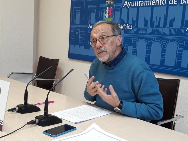 Fernando de Las Heras dimite como concejal de Podemos Recuperar Badajoz