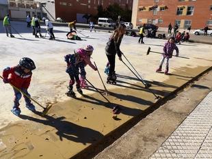 Vecinos de Cerro Gordo piden que se termine la nueva pista de patinaje