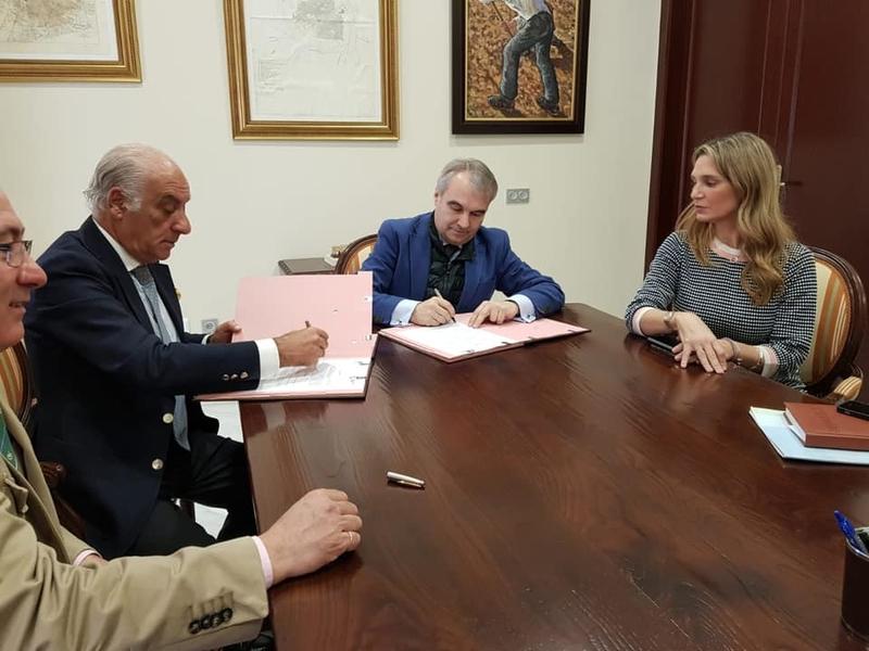 Protocolo de colaboración entre Ecuextre y Feira nacional do Cavalo de Golegá