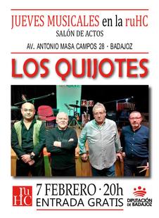Los Quijotes vuelven a actuar en la Residencia Universitaria Hernán Cortés
