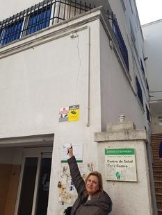 Cs Badajoz propone el traslado del Centro de Salud Los Pinos a la Oficina de Respuesta Personalizada por