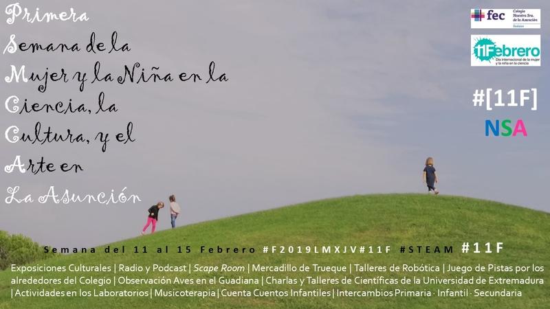 El Colegio Nuestra Señora de la Asunción celebra la semana de la ciencia, la cultura y el arte coincidiendo con el 11F