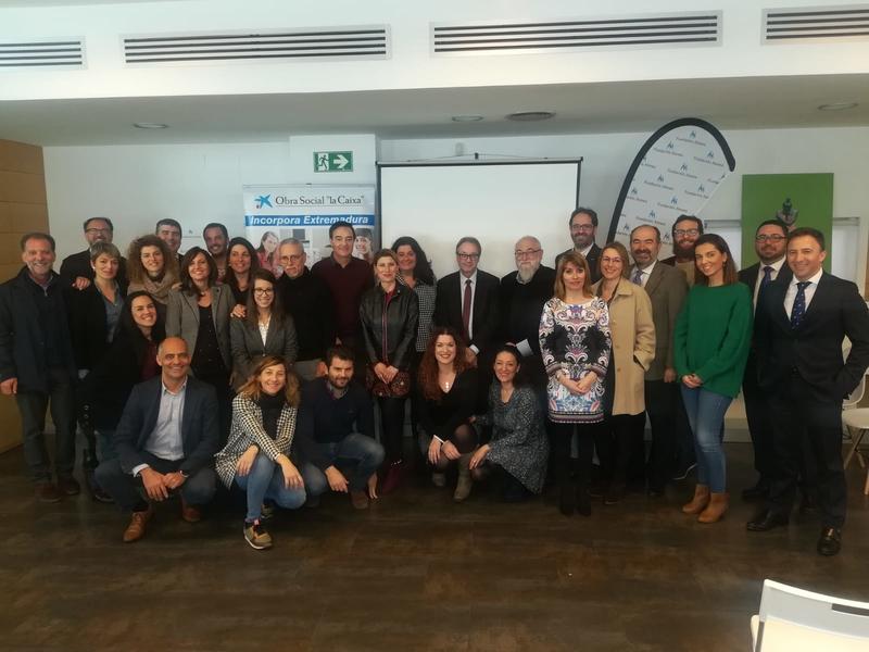 Incorpora de ''la Caixa'' facilita 372 empleos a personas en riesgo de exclusión en Badajoz