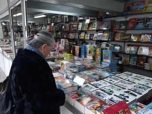 Una decena de libreros de todo el país participan en la Feria del Libro Antiguo y de Ocasión