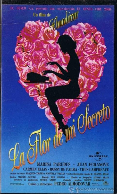 ''La flor de mi secreto'', de Pedro Almodóvar, se proyecta en la R.U. Hernán Cortés
