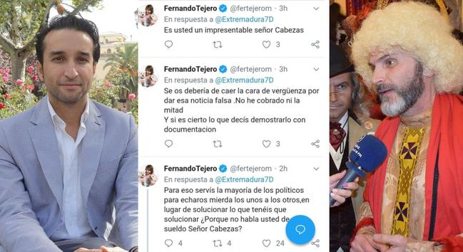 Fernando Tejero niega haber cobrado 12.100 euros por el pregón de Carnaval