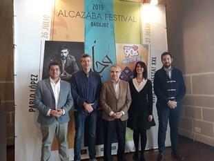 Pablo López y el nuevo show XXL de Love 90's protagonizan el cartel del Alcazaba Festival Badajoz 2019