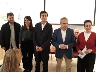Quedan expuestos en el Colegio de Arquitectos de Badajoz, los ocho proyectos de El Campillo