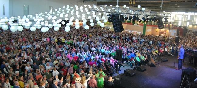 Miles de personas provenientes de Extremadura y Portugal disfrutaron de la 22 Feria de Mayores