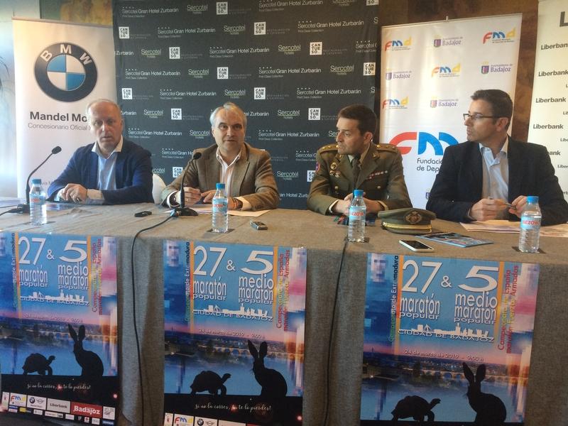 La 27ª maratón popular y la 5ª media maratón de la Ciudad de Badajoz batirán récord de participación