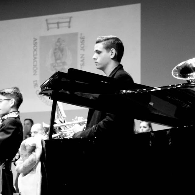El joven pianista Juan Tinoco Zambrano ofrece un recital de piano el 22 de marzo