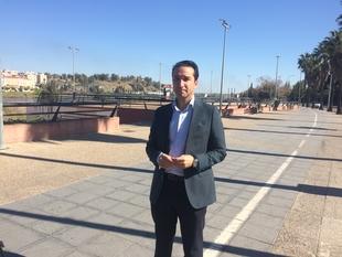 Ricardo Cabezas afirma que el carril bici ha sido la 'bestia negra' del PP en toda su legislatura