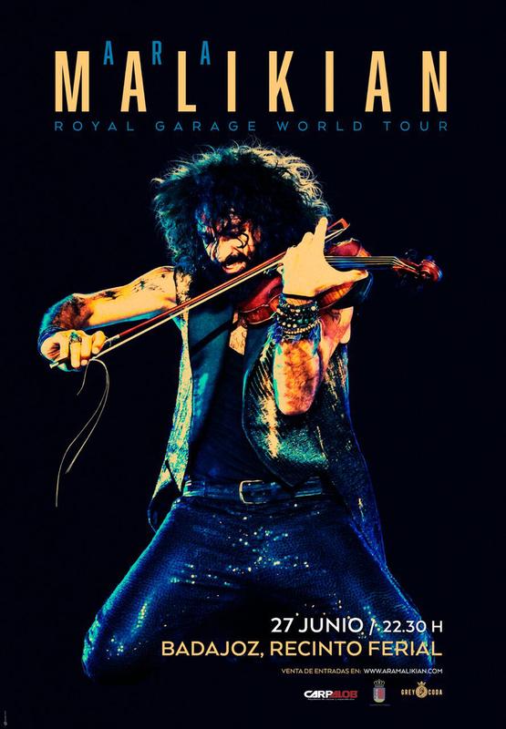 Ara Malikian estará en Badajoz presentando su nueva gira 'Royal Garage World Tour'
