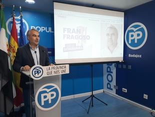 Fragoso presenta la web oficial de su candidatura con la que los ciudadanos podrán comunicarse directamente con él