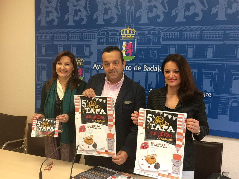 Hasta 15 establecimientos de Badajoz participarán en la V Ruta de la Tapa sin Gluten
