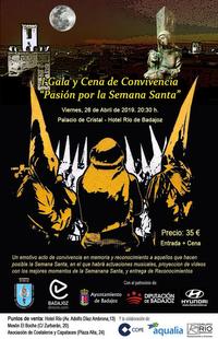 BadajozDirecto produce la I Gala-Cena de Convivencia ''Pasión por la Semana Santa''