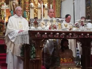 Homenaje a Monseñor Antonio Montero, primer Arzobispo de Mérida-Badajoz