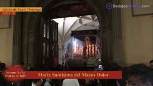 Los cuatro pasos de Santo Domingo no pisan la calle