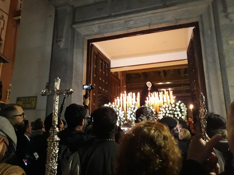 La Soledad vuelve a quedarse en el templo