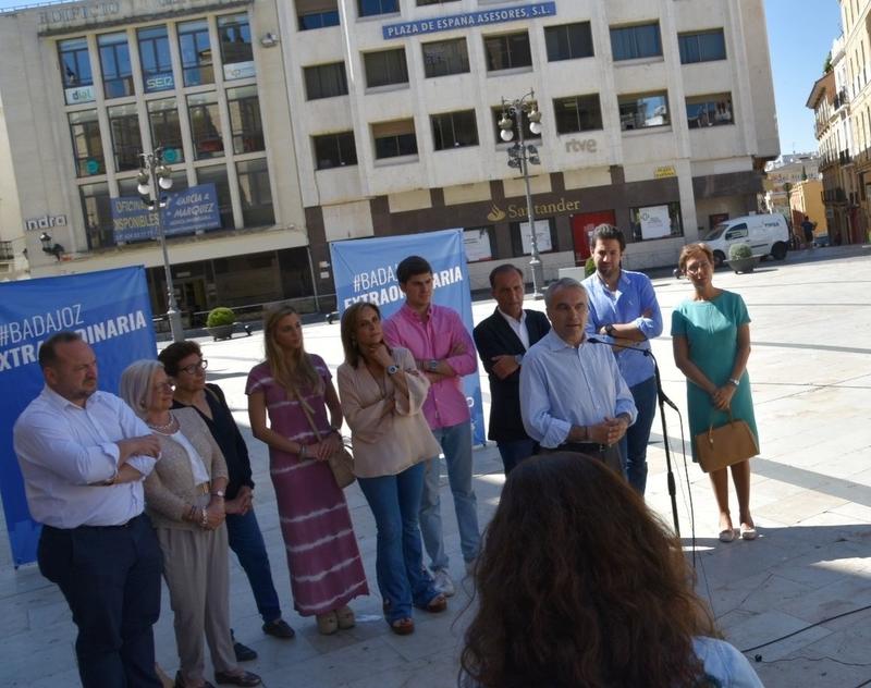 Fragoso propone crear una Concejalía del Casco Antiguo que coordine todas las actuaciones en el barrio