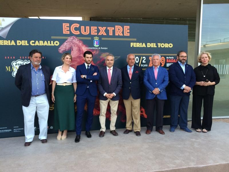 Más de 250 caballos se darán cita en la XI edición de 'Ecuextre'