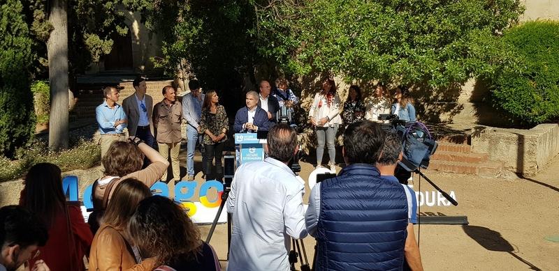 Fragoso apuesta por convertir Badajoz en la referencia extremeña para atraer inversiones internacionales y generar empleo