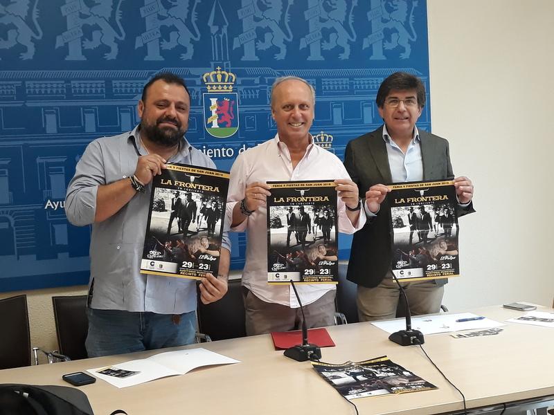 La Frontera y Los Refrescos ofrecen un concierto el 29 de junio en la Feria de San Juan