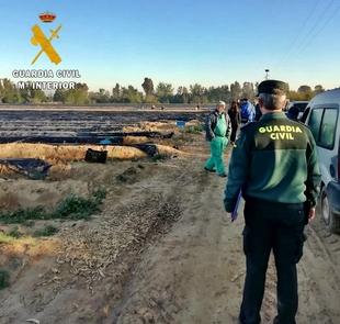 Operación conjunta de la Guardia Civil y la Inspección Provincial de Trabajo contra la contratación ilegal de trabajadores