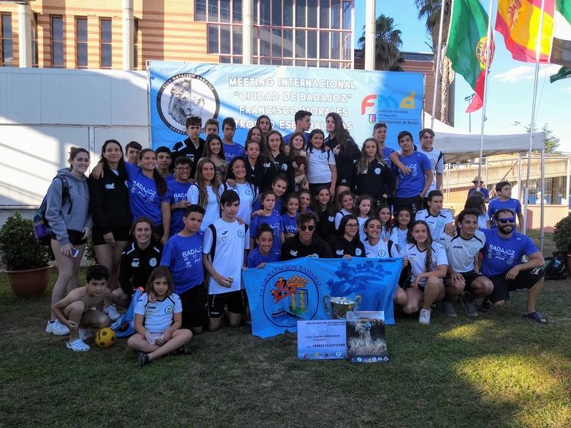 El Club Natación Badajoz, campeón de su trofeo internacional ''Ciudad de Badajoz''