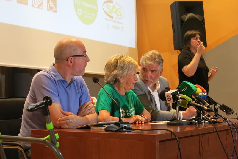 Proyección especial de Secindi en el día mundial de la ELA 2019