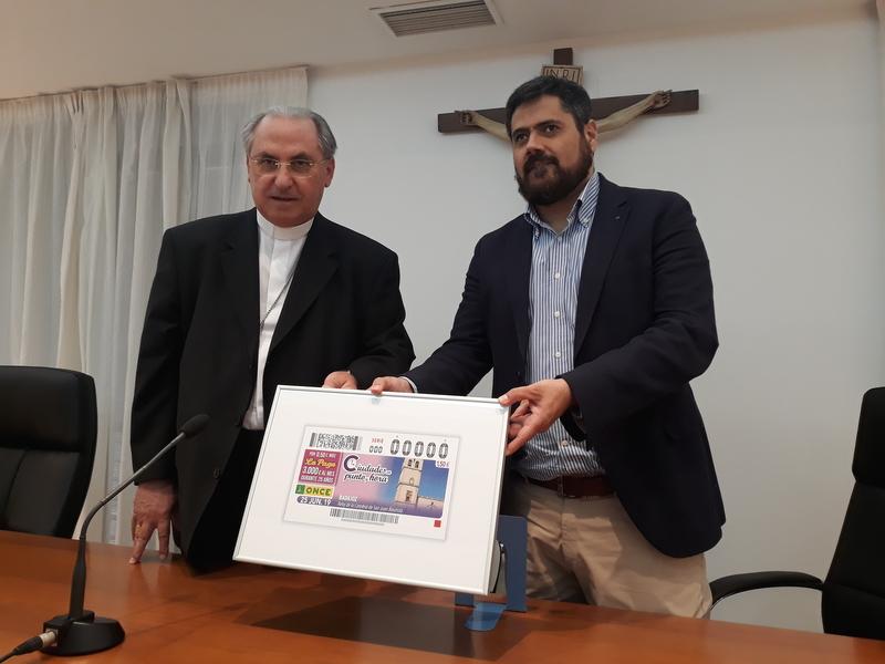 5'5 millones de cupones llevarán la Catedral de Badajoz a las carteras de millones de Españoles