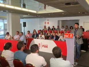 El comité provincial del PSOE de Badajoz propone por aclamación a Miguel Ángel Gallardo para presidir la Diputación