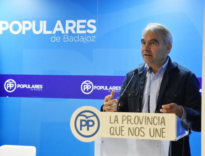 El Comité Ejecutivo Provincial de Badajoz designa a los diputados que formarán el Grupo Popular en la Diputación