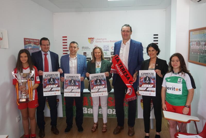 La Women's Cup Ciudad de Badajoz celebra su novena edición ''con mucho orgullo''