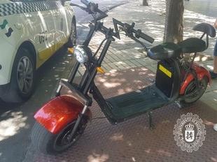 A disposición judicial el conductor de un Vehículo de Movilidad Personal por carecer de permiso de conducción