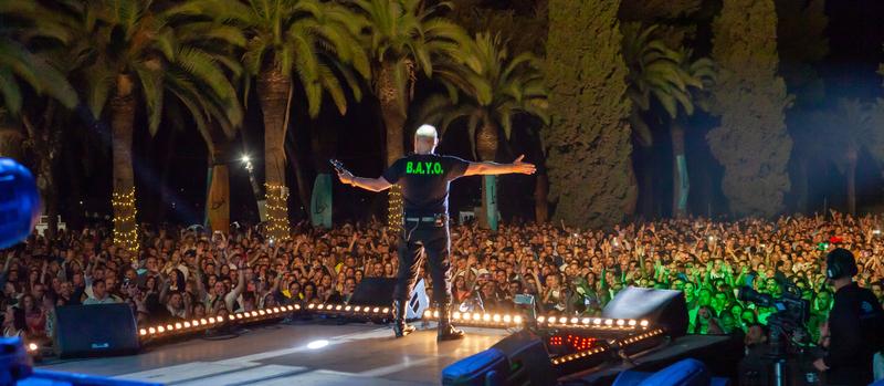 13.100 espectadores de múltiples nacionalidades disfrutaron del Alcazaba Festival