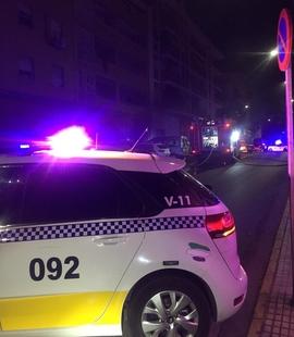 Buscan a la persona que ha quemado cuatro contenedores en Badajoz