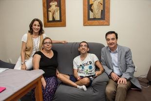 Fundación CB adapta una vivienda en Badajoz y la hace totalmente accesible