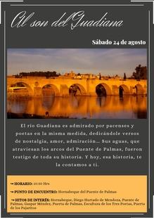 ''Al son del Guadiana''. Visita guiada este sábado